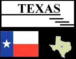 Texas' Flag & Map
