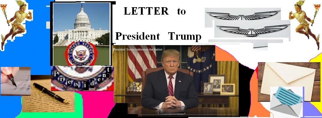 Letter to Pres. Trump