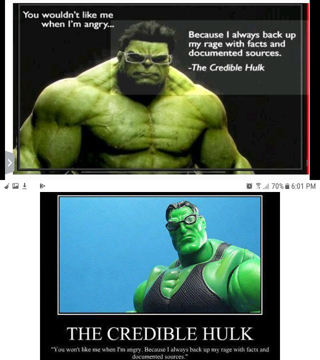 The 'Credible' Hulk